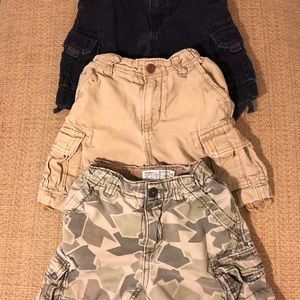 Bundle of 3. Boys cargo shorts